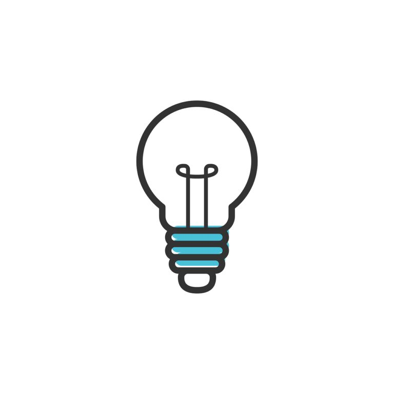 idea, icon, light